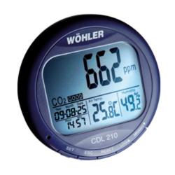 Газоанализатор СО2 модель Wöhler CDL 210