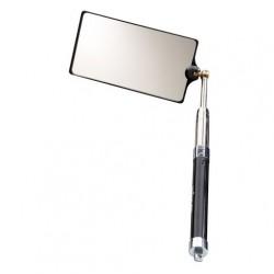 Зеркало досмотровое большое на основе стекла Wöhler 8087 с фонариком