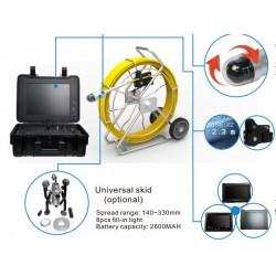 Система телеинспекции Schroder SD 1050 c управляемой камерой. Длина кабеля до 120 метров