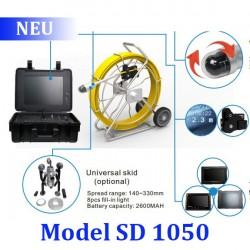 Система телеинспекции Schroder SD 1050 c управляемой камерой. Длина кабеля до 60 метров