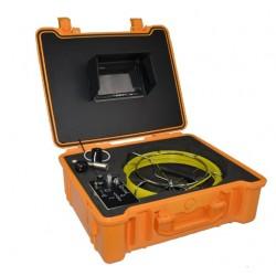 Телеинспекционная система для труб диаметром 25 – 120мм. Модель Schroder SD 71. Длина кабеля 100 метров