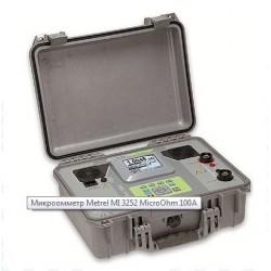Микроомметр Metrel MI 3252 MicroOhm 100A