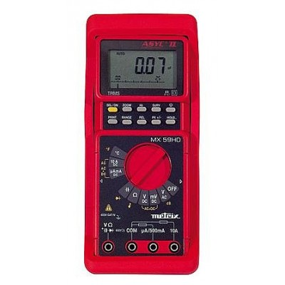 Digitalmultimeter MX 59HD