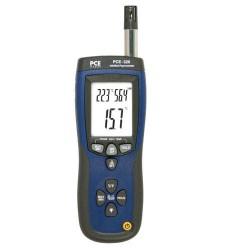Комбинированный пирометр с контактным датчиком температуры и встроенном пирометром PCE 320