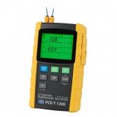Многоканальный термометр PCE-T 1200