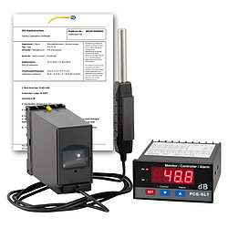 Измеритель уровня звука SLT-ICA с сертификатом калибровки ISO