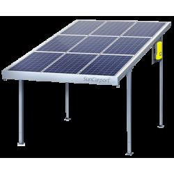 Навес из солнечных панелей CarPort для автомобилей
