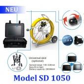 Система телеинспекции Schroder SD 1050 c неуправляемой и управляемой камерой. Длина кабеля до 150 метров